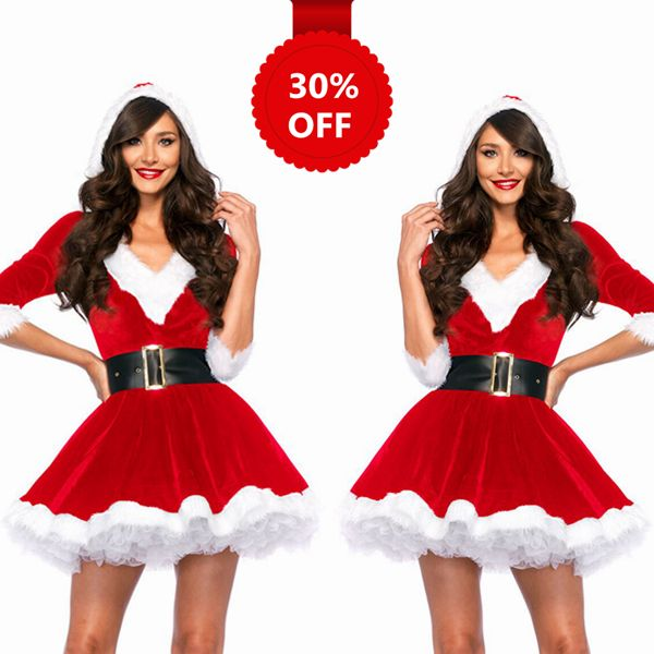 Santa Baby Crystal Velvet Holiday Dress Women Christmas Dress in 2018 |  Happy Christmas | Pinterest - Father Christmas Outfits For Sale SuriSara