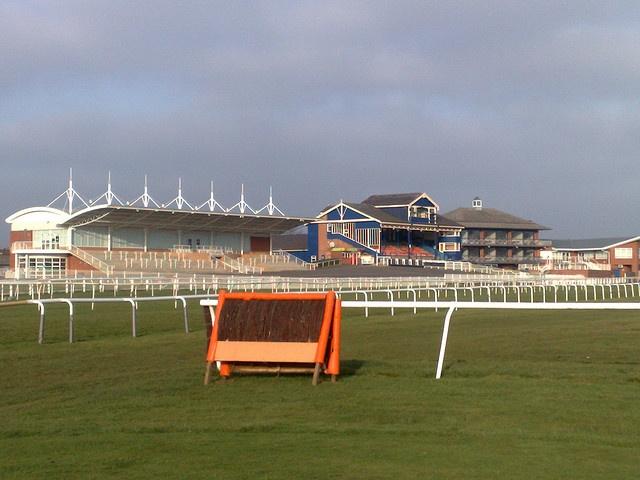 Leicester Racecourse.