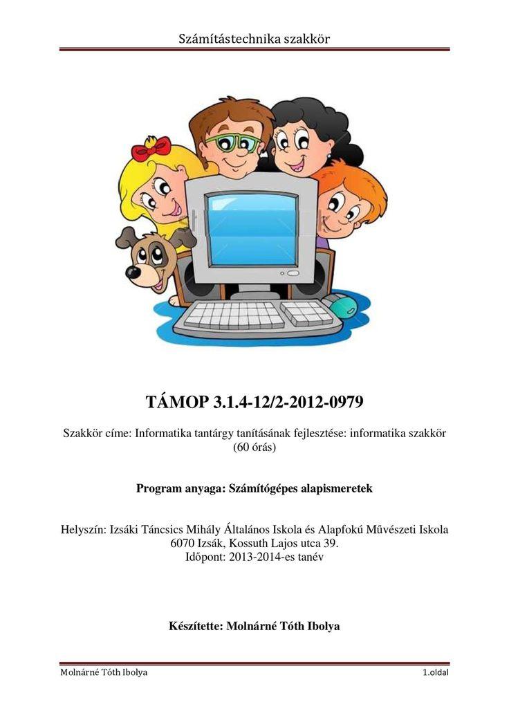 Számítástechnika szakkör vezetése   PDF to Flipbook
