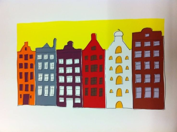 Amsterdam - grachtenhuizen