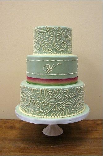 Mehndi design wedding cakes