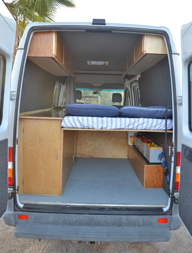 Wow, talk about hands-on innovation! Check out these DIY success stories on converting vans into RVs.
