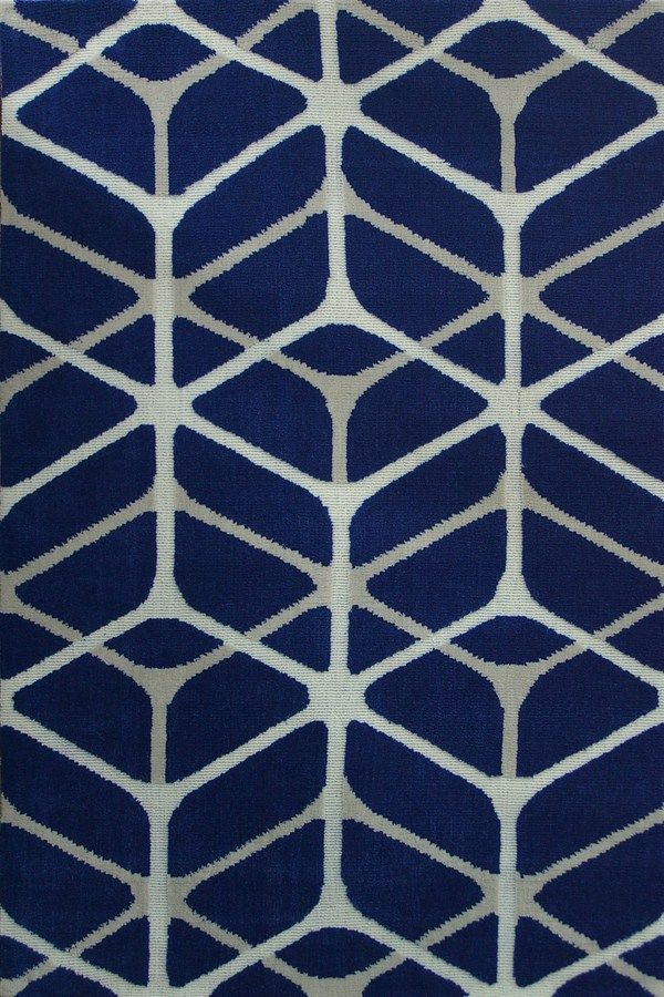Rizzy Maze Rug In Blue White Grey 74 50 80 X 150 Rugs A