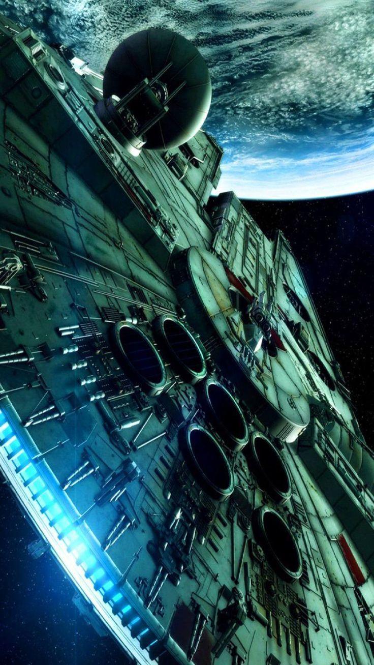 Google themes star wars - Millennium Falcon