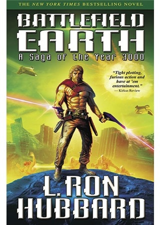 Battlefield Earth - L. Ron Hubbard, don't let the movie based on this book influence you.  This is one of my favorite books, so it is unfortunate the movie was a complete let down.