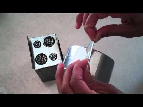 DIY doll stove from a Pop Tart box.  Many other DIY doll furniture videos will be listed as well.