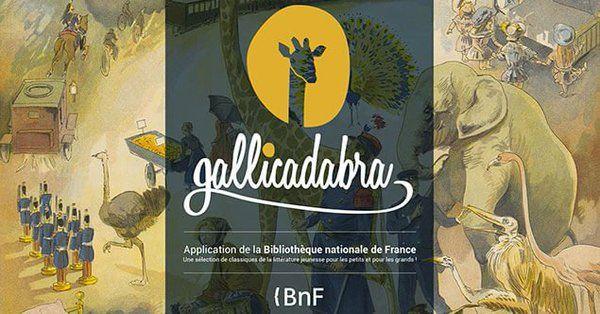 #Gallicadabra - bibliothèque numérique pour les enfants de 3 à 12 ans @laBnF #litteraturejeunesse  Google Play : https://play.google.com/store/apps/details?id=com.bnf.gallicadabra&hl=fr Apple Store : https://itunes.apple.com/us/app/gallicadabra/id1196195810?mt=8