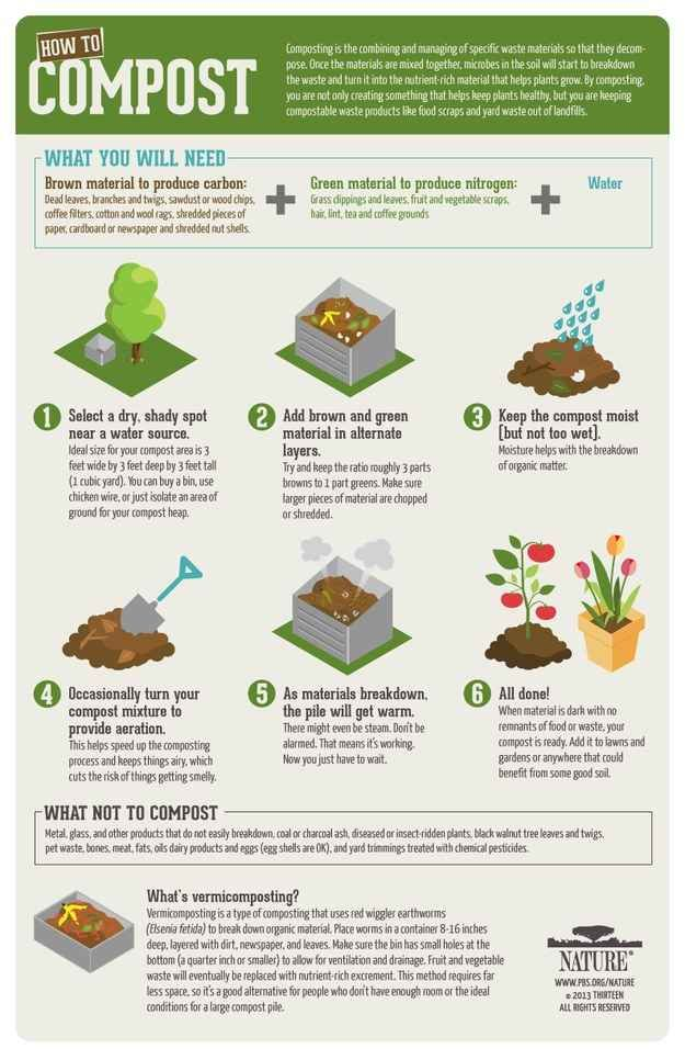 Compost! 34 Ways To Waste Less Food