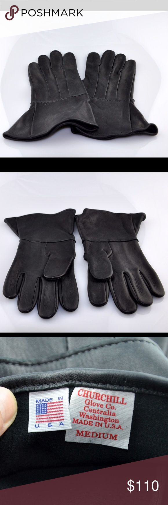 Diavolo leather motorcycle gloves - Men S Churchill Glove Co Leather Motorcycle Gloves