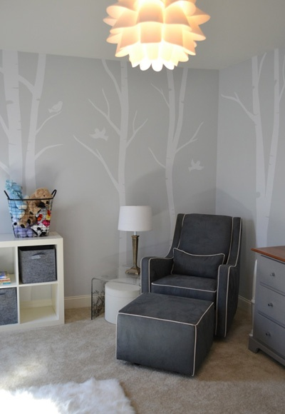 Modern Nursery #gray #boy #neutral