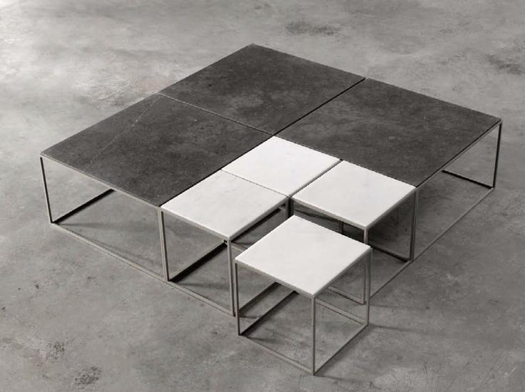 Architecture Low Square Table | Alternative Joan Lao