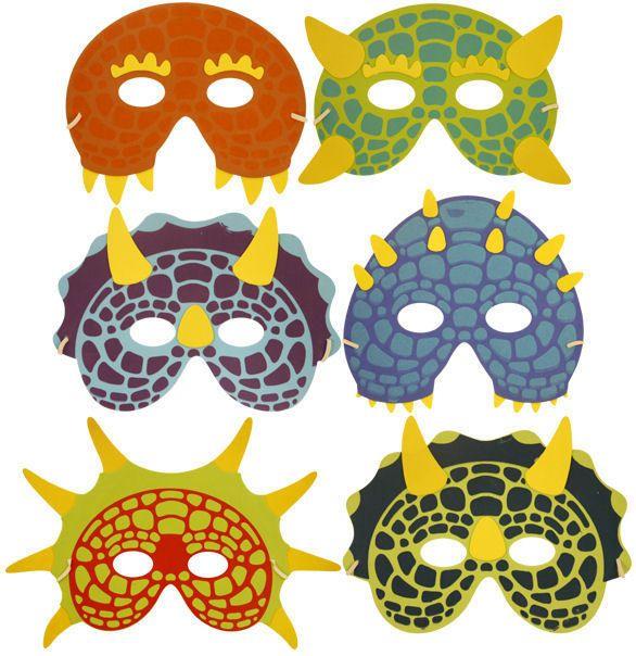 6 Masques DE Dinosaure Mousse Pinata Jouet Sachet SAC DE Fête Mariage Enfants | eBay