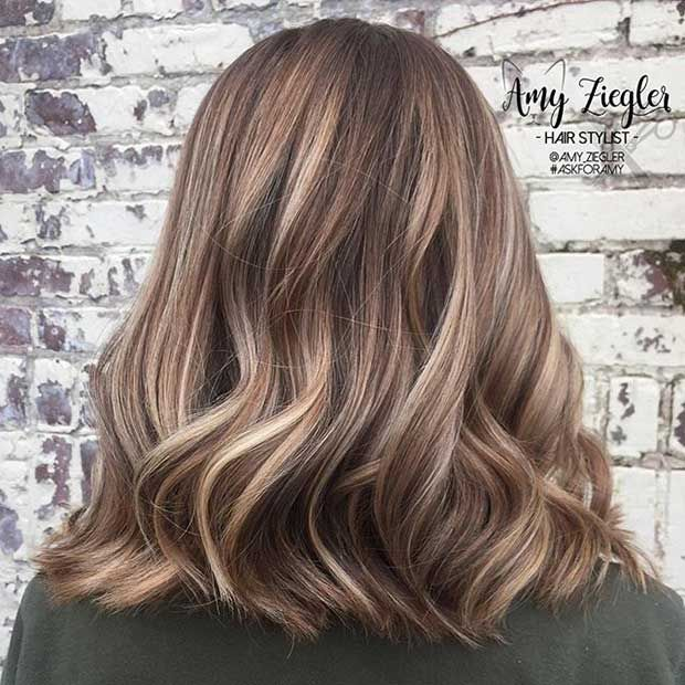 27 Pretty Lob Haircut Ideas You Should Copy in 2017