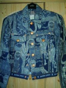 Jean Paul Gaultier jacket, £5, Sue Ryder Charity Shop
