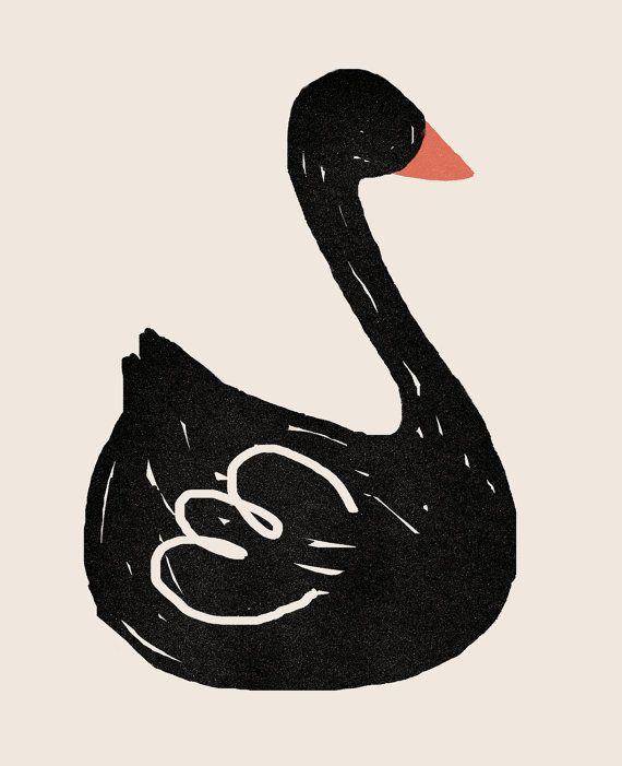 Black Swan Song print
