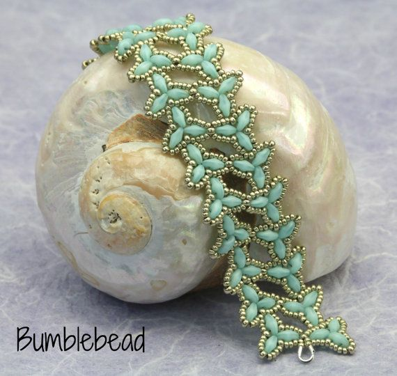 Elven Bracelet Tutorial - A Beadweaving Pattern