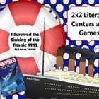 """This item contains two Scoot and two ZAP! activities to accompany the novel """"I Survived the Sinking of the Titanic 1912"""" by Lauren Tarshis. Skills practiced are synonyms, alphabetical order, verb tense, and subjects and predicates."""