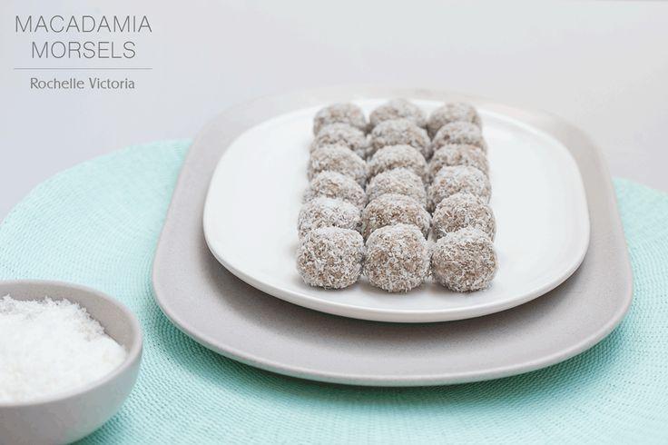 Macadamia Morsels | Raw Bites Recipe Free Recipe on the blog now