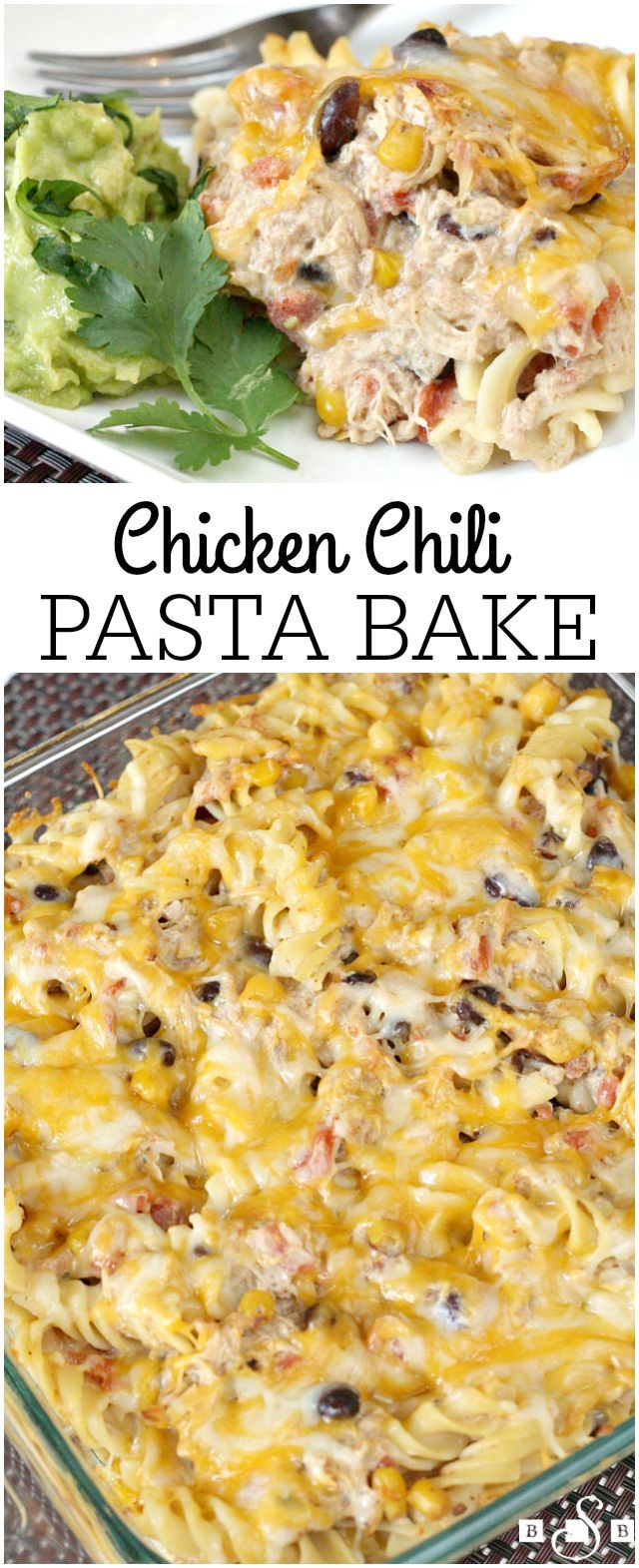 Chicken Chili Pasta Bake - Butter With a Side of Bread AD #Yesyoucan