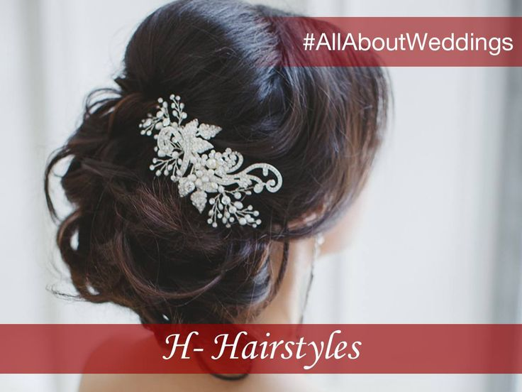 #AllAboutWeddings: Hairstyles Complement your perfect wedding attire with the right hairdo. The right hairstyling can amp up your look in an instant and complete your ethnic ensemble for the wedding season.