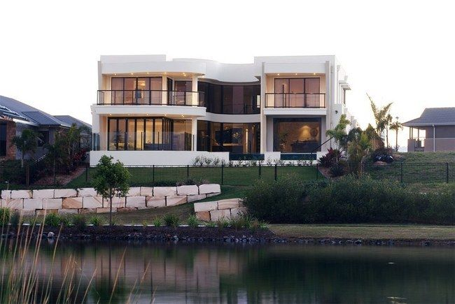 Inspirations Luxury Home with architecture design for luxury home living, #design #waterfronthome #architecture #luxuryhome