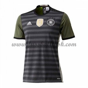 Günstige Fußballtrikots Deutschland Nationalmannschaft 2016 Auswärtstrikot Kurzarm