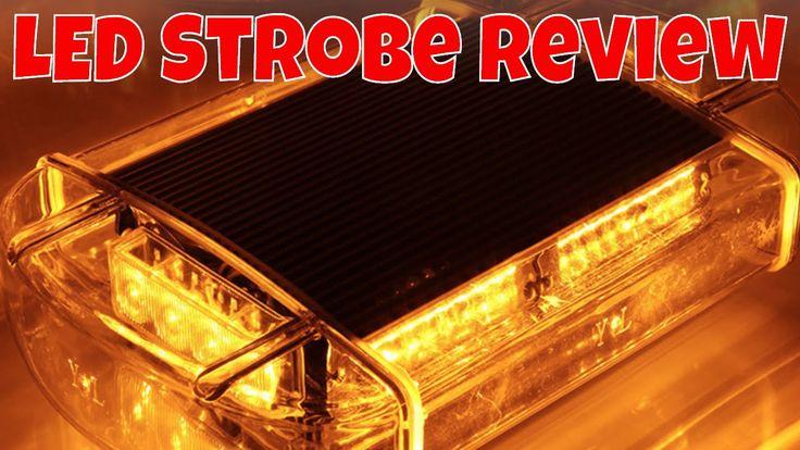 24W LED d'urgence véhicule remorquage camion Strobe Mini barre AMBRE