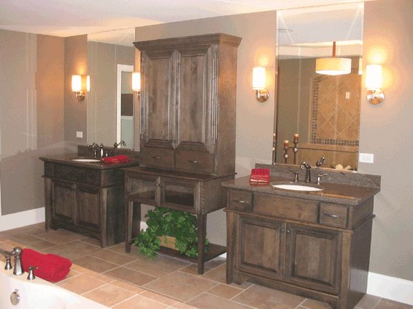 Custom Bathroom Vanities Oklahoma City 18 best master bathrooms images on pinterest | master bathrooms