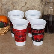 Razorback party or tailgating cups