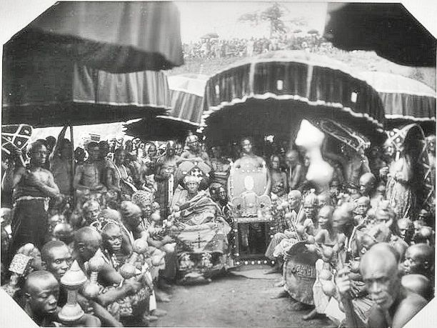 Golden Stool Sika ɗwa In Asanteman 1935 This Day In