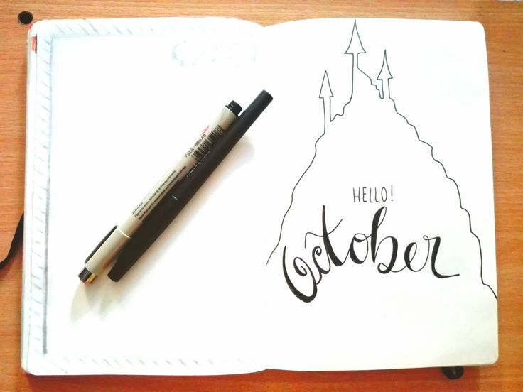 Bullet Journal PT - October17 - Plan with me - Halloween style cover