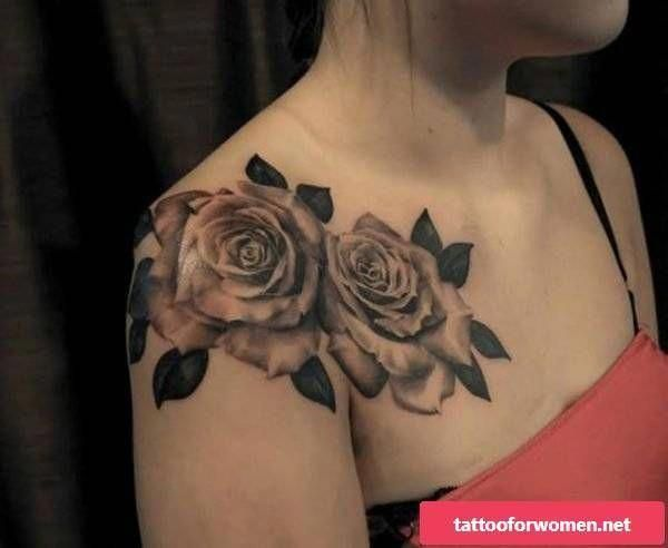 Tattoos For Women Chest Tattoos For Women Rose Chest Tattoo Tattoos