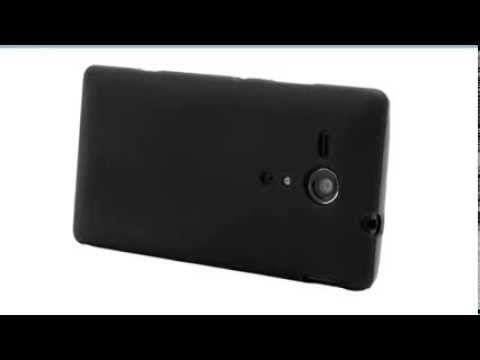Θήκη σιλικόνης για Sony Xperia SP - μαύρο