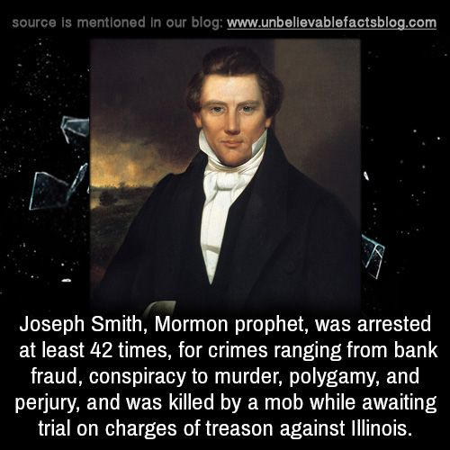 Church: Mormon founder Joseph Smith wed 40 wives