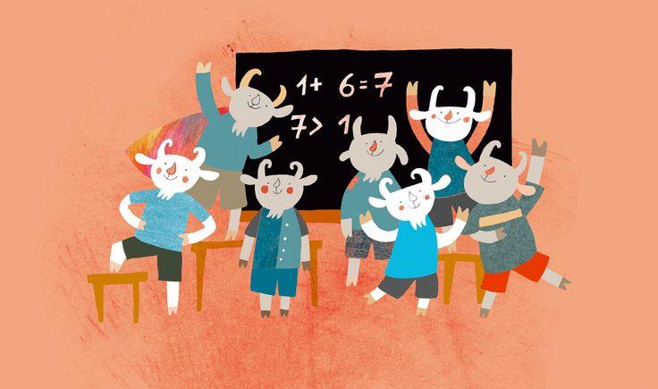 polska ilustracja dla dzieci: Zapowiedź - Siedmiu wspaniałych