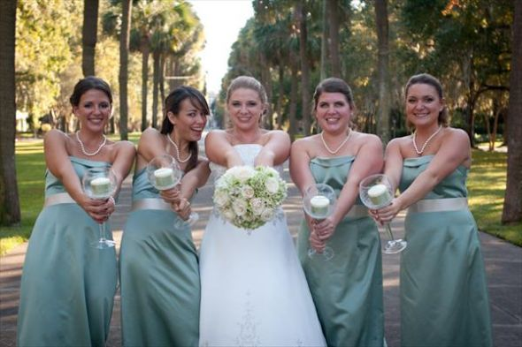 Candles Not For Pictures Like This Bridesmaids Pinterest Bridesmaid Bouquets Flower And