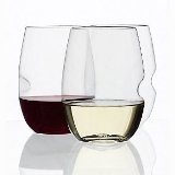 Plastic Wine Glasses - stemless, acrylic, shatterproof. Love these for Christmas & wine gift ideas!