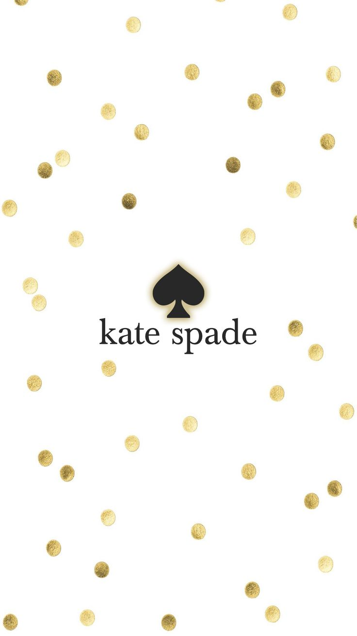 kate spade gold iphone wallpaper background illustration
