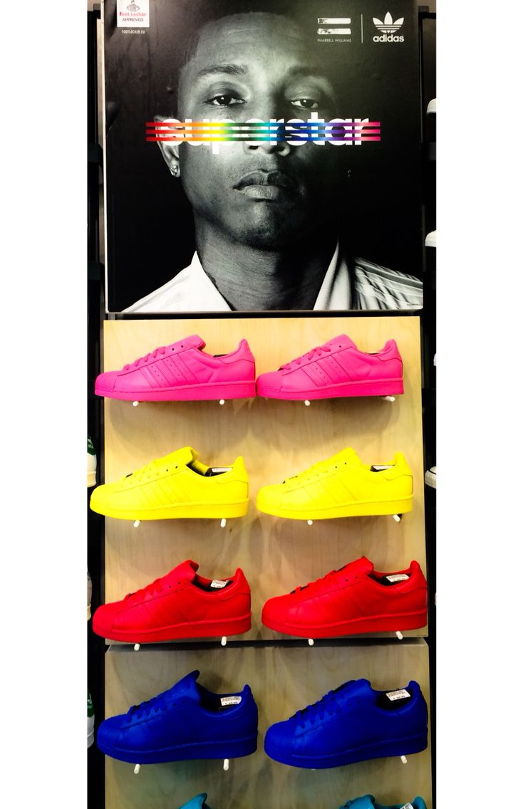 a4f6b99ff4d  adidas  superstar supercolor pharellwilliams yellow pink red