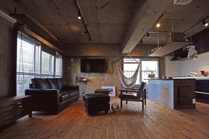 「株式会社 建築商売」のリノベーション事例「インダストリアルなブルックリンのSTUDIOをイメージしたワンルームリノベーション」
