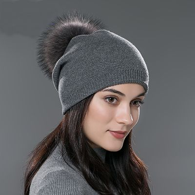 Knitted Wool Casual Beanies //Price: $13.95 & FREE Shipping //