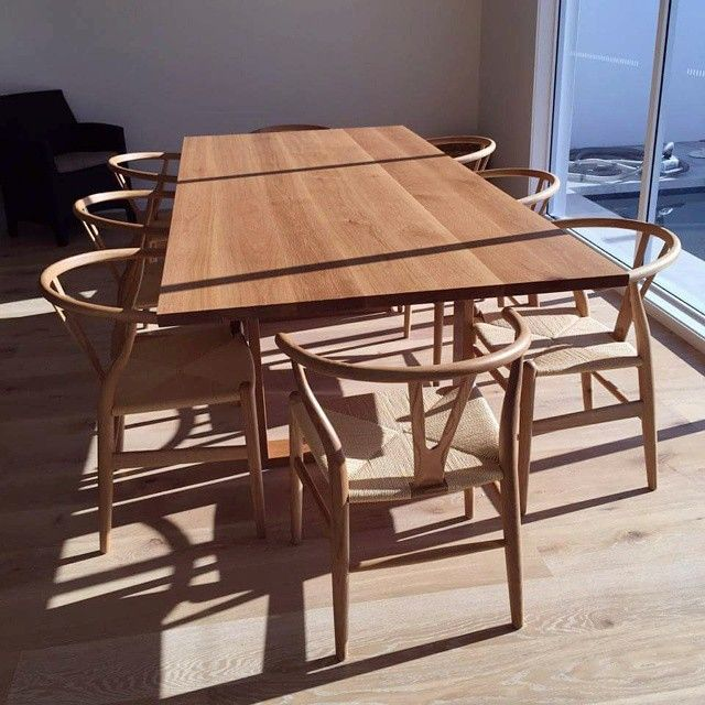 A Recent Custom Made Table In A Happy Customers Home! #timber  #timberfurniture # · Handmade TableLove DesignDesign HomesDining Room