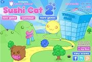 Play Sushi Cat 2 on Cool Math Game Online : Sushi Cat 2 is a skill game. The Sushi Cat wife and him are out shopping. The Bacon Dog has steal his wife when h…
