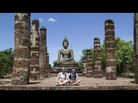 Sukhothai in bici