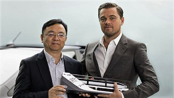 """Leonardo DiCaprio Is New Brand Ambassador In China For BYD's """"New Energy"""" Vehicles"""