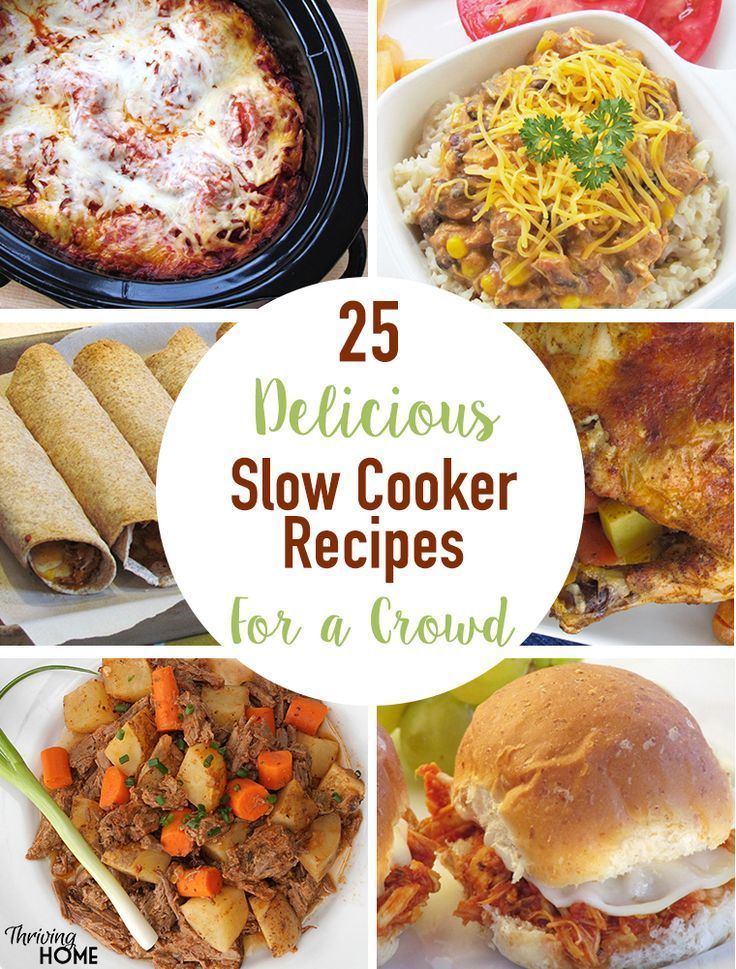 25+ Slow Cooker Recipes for Groups of People {Side Dish ...