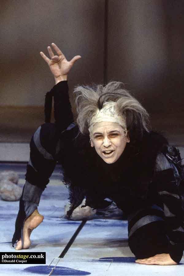1994: Kathryn Hunter in the ti...