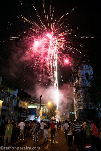 Fireworks in Chitre, Panama   by ramonpereira.com