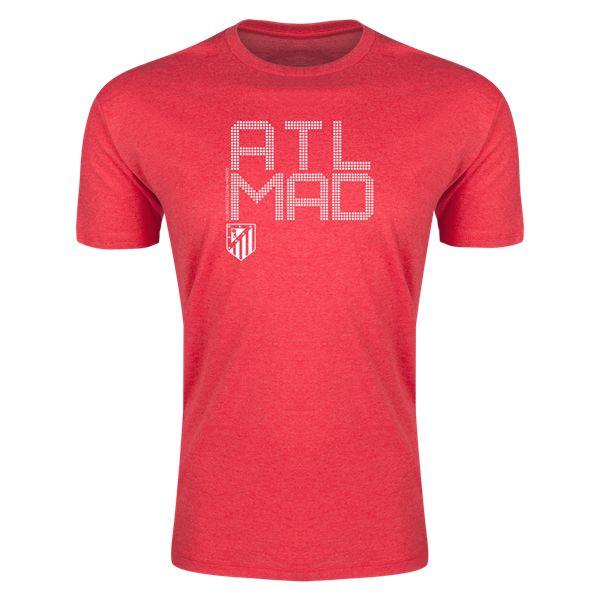 Atletico Madrid ATL MAD Mens Fashion T-Shirt