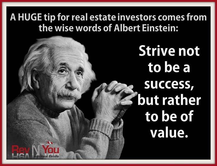 Albert Einstein Quotes Strive Not Success: 42 Best December Real Estate Marketing (And The Holidays
